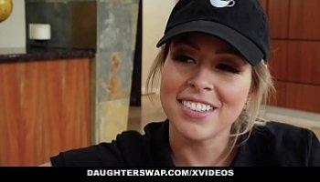 daughterswap   teen besties fuck eachothers dads