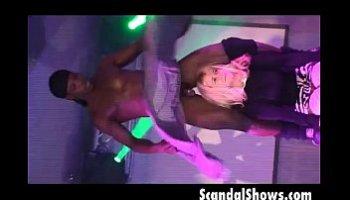 girl gives girl lap dance