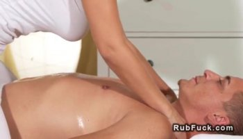 Sexy asian babe with big melons and kniky sexual desires gives head and dazzling titjob