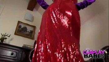 jessica rabbit dress flies up