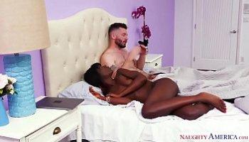 black guy fucks white girl porn
