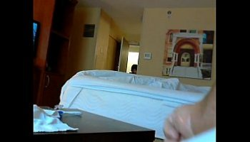 caught jacking off by maid