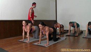 yoga instructor fucks students