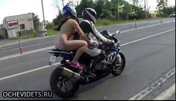 nude women on bikes
