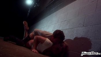 fucked in an alley