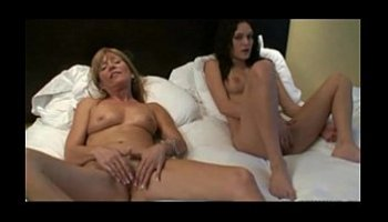 mother and daughter masturbating together