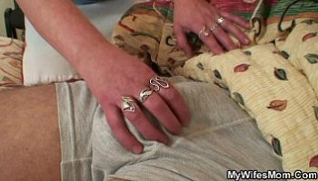 mother in law handjob