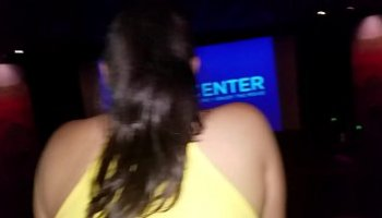 blowjob in movie theater